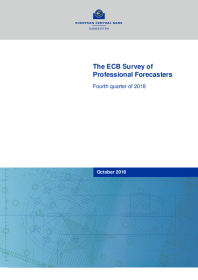 The ECB Survey of Professional Forecasters (SPF) – Fourth quarter of 2018