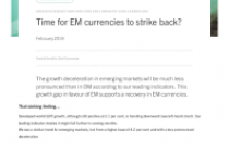 The EM currencies strike back?