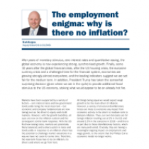 The employment enigma: why is there no inflation?