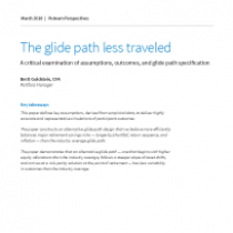 The glide path less traveled