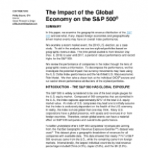 The Impact of the Global Economy on the S&P 500