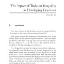 The Impact of Trade on Inequality in Developing Countries