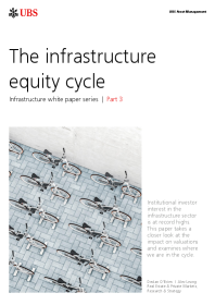 The infrastructure equity cycle
