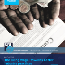 The living wage: towards better industry practices