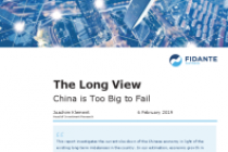 The Long View China is Too Big to Fail