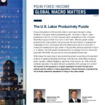 The U.S. Labor Productivity Puzzle