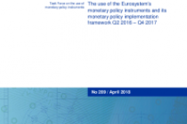 The use of the Eurosystem's monetary policy instruments and its monetary policy implementation framework Q2 2016 – Q4 2017