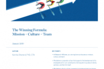 The Winning Formula: Mission + Culture + Team