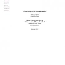 Total Portfolio Benchmarking
