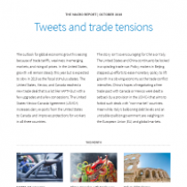 Tweets and trade tensions