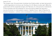 US Government Shutdown Paused for Now: Assessing the Economic Impact
