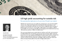 US high yield: accounting for outside risk