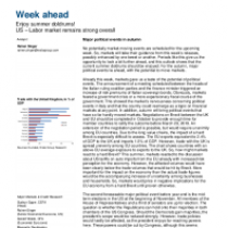 US – Labor market remains strong overall