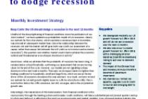 US slowdown to dodge recession