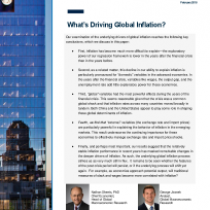 What's Driving Global Inflation?