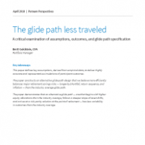 White Paper: The glide path less traveled