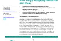 Wind Energy: navigating towards the next phase