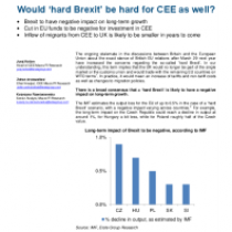 Would 'hard Brexit' be hard for CEE as well?