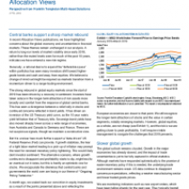 Central banks support a sharp market rebound