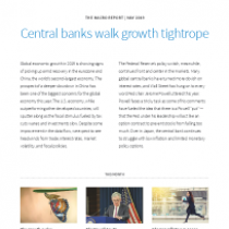 Central banks walk growth tightrope