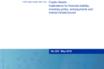 Crypto-Assets: Implications for financial stability, monetary policy, and payments and market infrastructures