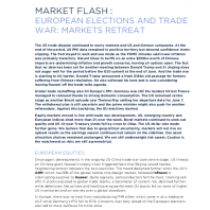 European Elections And Trade War: Markets Retreat