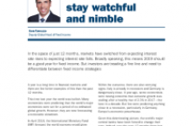 Global fixed income: it's time for investors to stay watchful and nimble