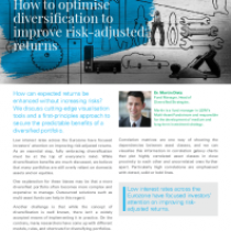 How to optimise diversification to improve risk-adjusted returns