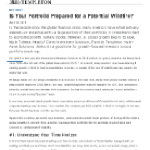 Is Your Portfolio Prepared for a Potential Wildfire?