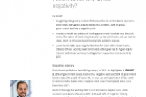 Market Bulletin Fixed Income: Why all the negativity?