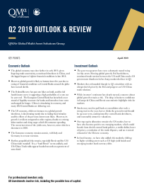 Q2 2019 OUTLOOK & REVIEW