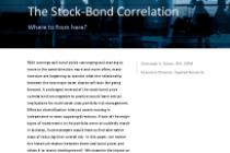 The Stock-Bond Correlation
