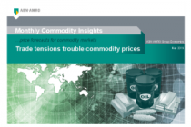 Trade tensions trouble commodity prices