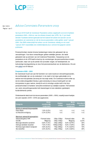 Advies Commissie Parameters 2019