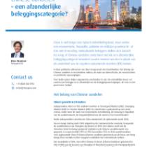 Chinese aandelen – een afzonderlijke beleggingscategorie?