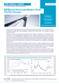 EM macro strategies benefit from the FED tailwind