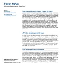 Forex News: US dollar, Japanese yen, Swiss franc