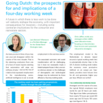 Going Dutch: the prospects for and implications of a four-day working week