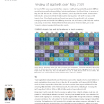 Review of markets over May 2019