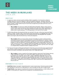 THE WEEK IN MUNILAND