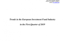 Trends in the European Investment Fund Industry in the First Quarter of 2019