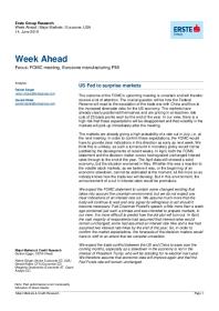Week Ahead | Major Markets | Eurozone