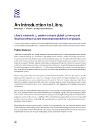 An Introduction to Libra