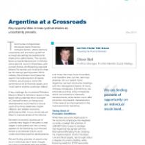 Argentina at a Crossroads