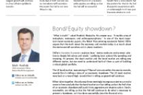 Bond/Equity showdown?