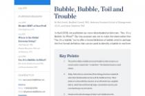 Bubble, Bubble, T oil and Trouble
