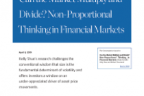 Can the Market Multiply and Divide? Non-Proportional Thinking in Financial Markets