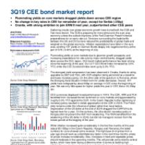 CEE Bond Market Outlook 3Q19