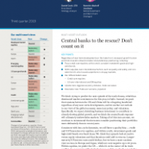 Central banks to the rescue? Don't count on it