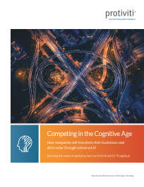 Competing in the Cognitive Age – How companies will transform their businesses and drive value through advanced AI